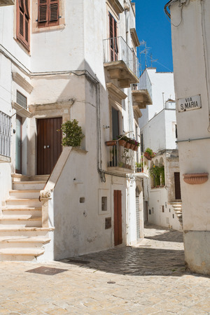 passageway: Alleyway. Putignano. Puglia. Italy.