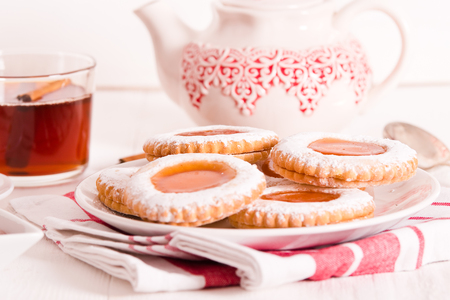 Teatime biscuits.