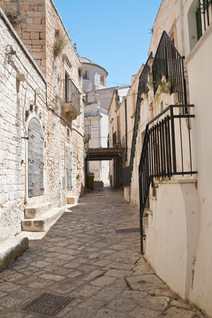 Alleyway. Ceglie Messapica. Puglia. Italy.  Editorial