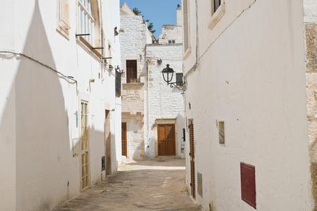 Alleyway. Locorotondo. Puglia. Italy. Editorial