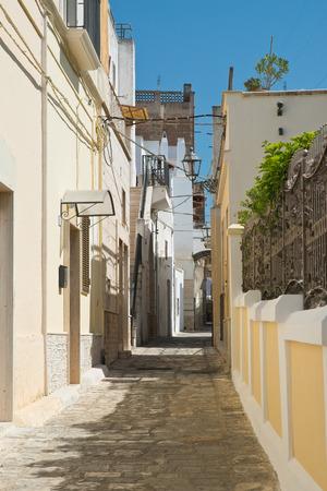 Alleyway. Massafra. Puglia. Italy.