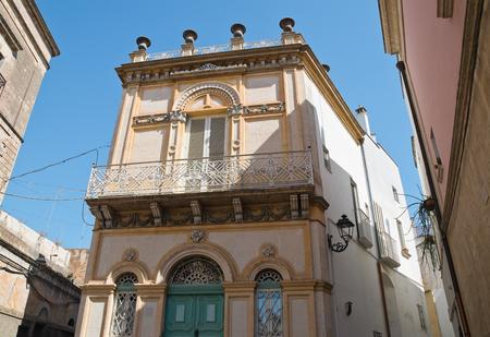 Historical palace. Massafra. Puglia. Italy.
