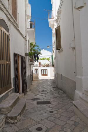 characteristic: Alleyway. Noci. Puglia. Italy.