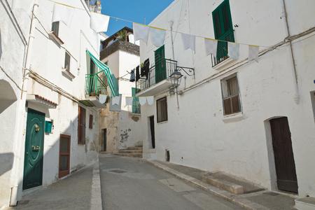 characteristic: Alleyway. Castellaneta. Puglia. Italy.