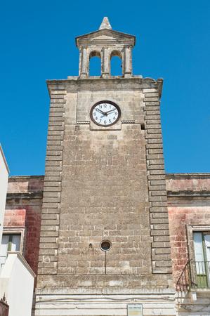 Clocktower. Mottola. Puglia. Italy.