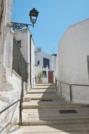 characteristic: Alleyway. Massafra. Puglia. Italy.