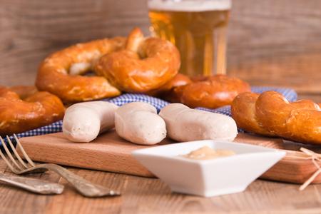 pretzel: Bavarian pretzels.