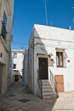 characteristic: Alleyway. Mottola. Puglia. Italy.