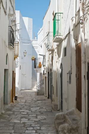 Alleyway. Mottola. Puglia. Italy.