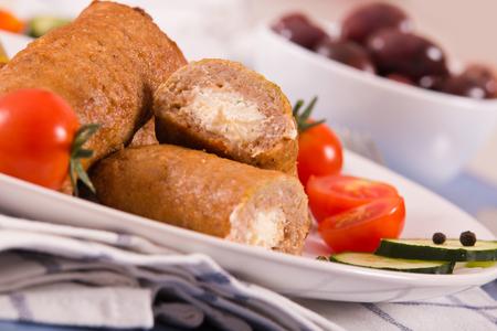 Bifteki greek meatballs.