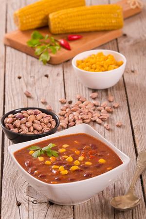 Beef chili.