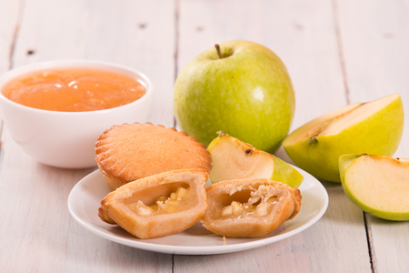 Apple pies.