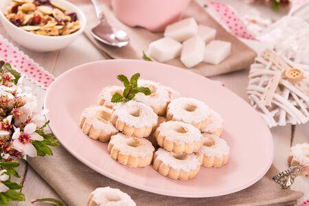 Canestrelli biscuits.