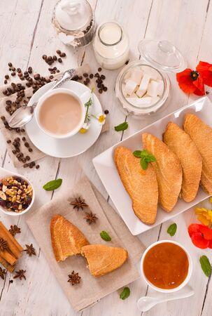 Florentines sweet puff pastries. Stock fotó
