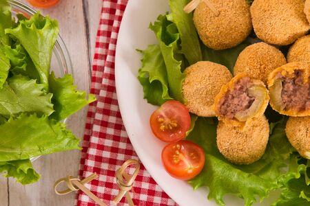 Ascoli stuffed olives. Stock fotó