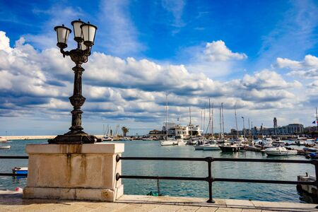 Panoramic view of Bari. Puglia. Italy. 免版税图像
