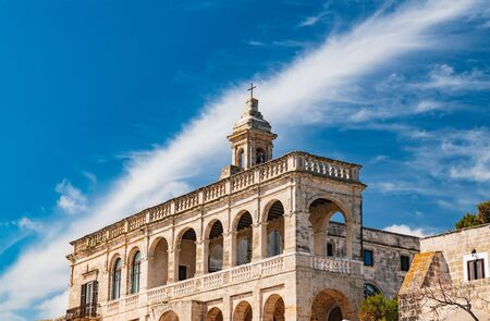 Benedictine Abbey of San Vito. Polignano a mare. Puglia. Italy.