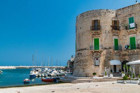 Panoramic view of Giovinazzo. Puglia. Italy.