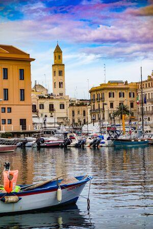Panoramic view of Bari. Puglia. Italy.