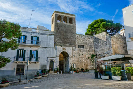 Porta tarantina. Conversano. Puglia. Italy. Editorial
