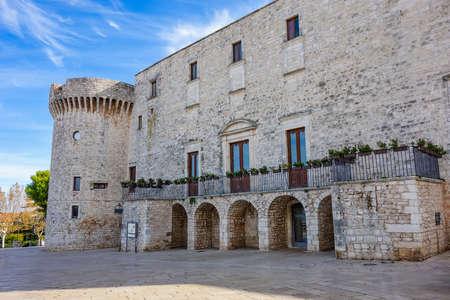 Swabian Castle of Conversano. Puglia. Italy. Editorial