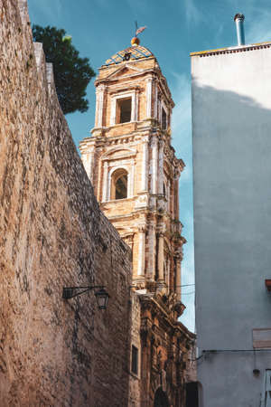Alleyway of Conversano. Puglia. Italy. Editorial