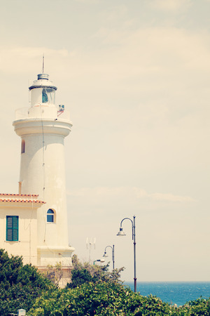 lazio: Old lighthouse. Italy, Lazio, San Felice Circeo
