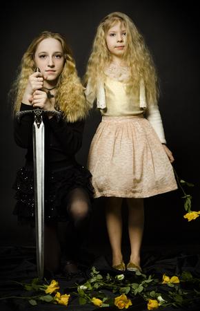 fairy tale princess: Fairy Tale - Princess and the Warrior