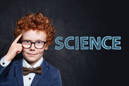 Genius child learning science