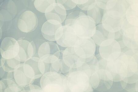 White bokeh bubbles sparkling lights festive abstract background 版權商用圖片
