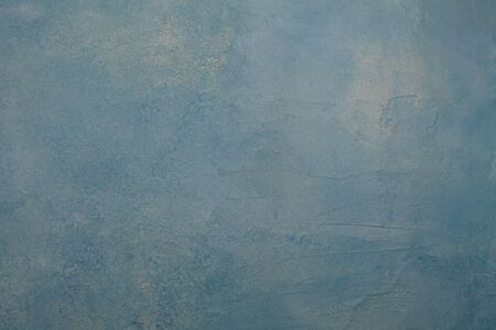 Blue stucco wall background texture. Grunge concrete plaster cement surface background 版權商用圖片 - 137804410