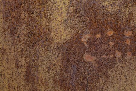 Old Rust textures wall with paint. Perfect background with space.