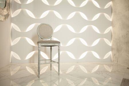 Stylish chair in modern interior 版權商用圖片