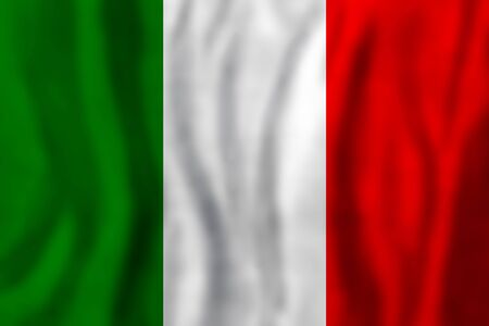 Travel concept with italian flag Background. Education and business