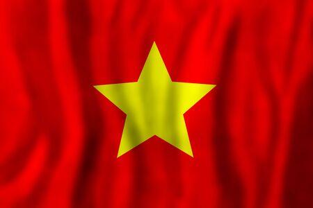 Vietnam flag background. Travel or Business Concept 版權商用圖片 - 150113863