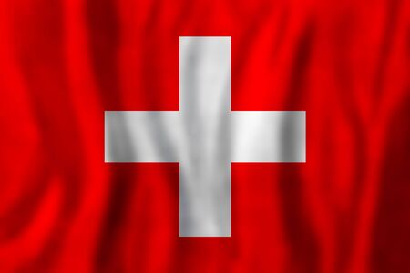 Travel concept with Switzerland flag Background. Education and business 版權商用圖片