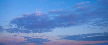 Nightly sunset sky clouds background