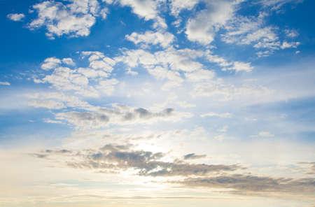 Perfect dawn sky clouds landscape Zdjęcie Seryjne - 151482976