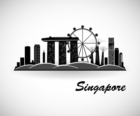 Singapore City Skyline Design