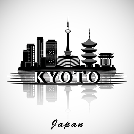 Modern Kyoto City Skyline Design