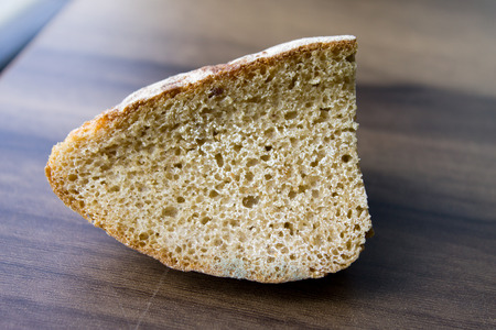 chyorsty bread on a wooden board, can be used for design Stock Photo