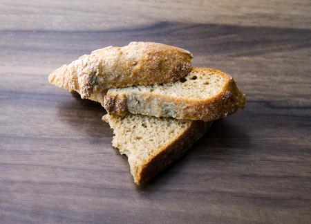 chyorsty brood op een houten bord, kan worden gebruikt voor het ontwerp