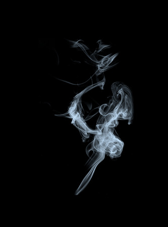 textur: abstract smoke natural pattern for black background and design Stock Photo