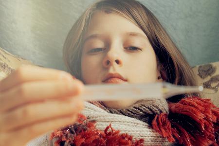 premature: small child falls ill, treatment and prevention, soft light effect