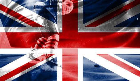british culture: flag of United Kingdom, hockey championship