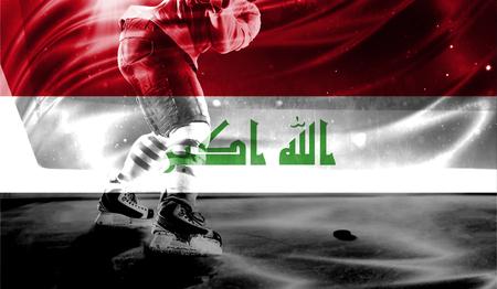plugger: flag of Iraq, hockey championship
