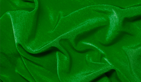 Realistic flag of Libya on the wavy surface of fabric Imagens