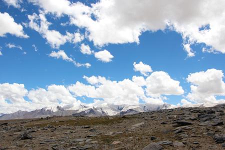 Kunlun Mount Everest glacier Stock Photo