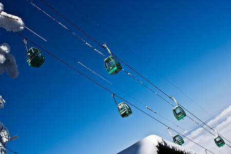 Sichuan Mount Emei cable car