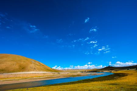 Qinghai Hoh Xil river